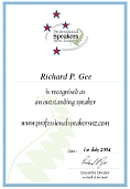 Download Outstanding Speaker Certificate